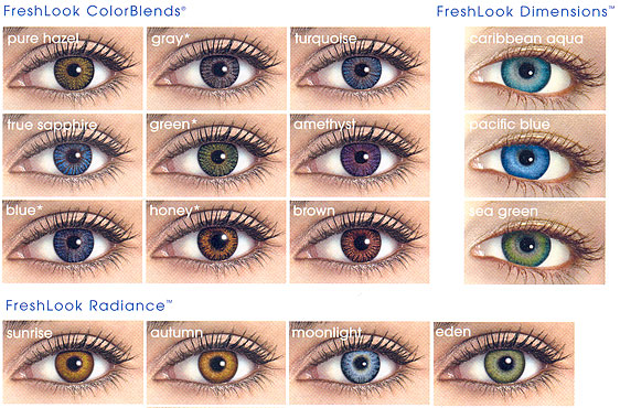 Seriously, PURPLE colored contacts? | Sarah's Electronic ...
