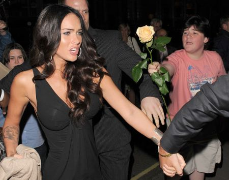megan fox claridges 150609